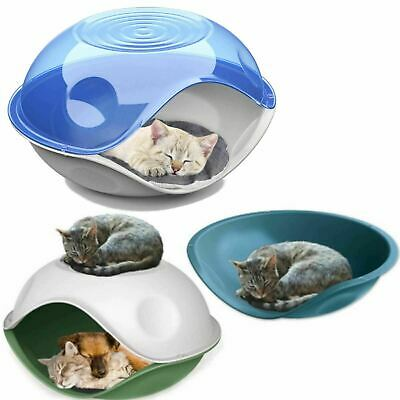 CatCentre® Waterproof Plastic Shelter Pet Cat Kitten Dog Bed House Kennel Crate