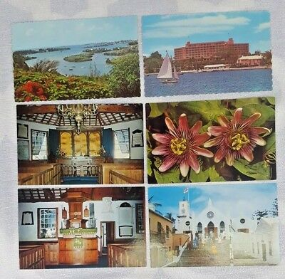 Vintage 70s Postcards Bermuda Unwritten New Old Stock Lot