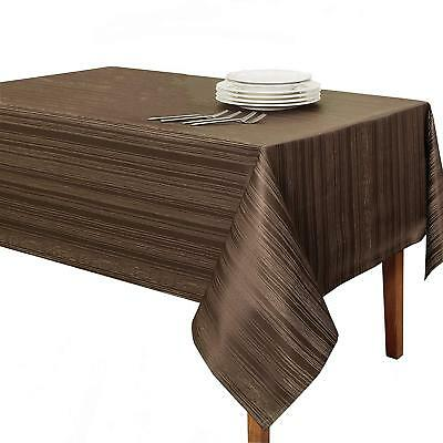 "Benson Mills Flow ""Spillproof"" Fabric Tablecloth, 60X120 Inch, Sage"
