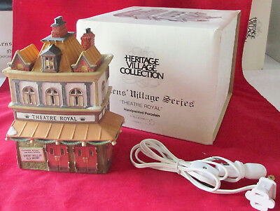 Dept 56 Heritage Dickens Village #55840 Theatre Royal 1989 -1992 Original Box