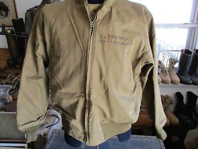Original WWII US Army Armored Forces Winter Combat Jacket aka Tanker's Jacket