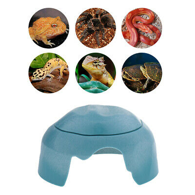 3 in 1 Small Reptile Hideout Lizard Turtle Amphibians Snake Hiding Cave