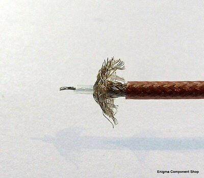 RG316D, Double Shielded, Low Loss 50 Ohm RF Coax Cable, UK Seller/Fast Dispatch.