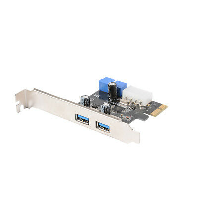 Dual Ports PCI Express to USB 3.0 Expansion Karte VL805 für Desktop PC AC328