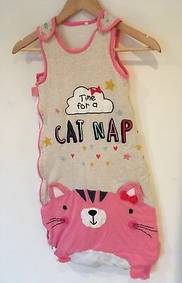 Baby Sleep Bag With Cat Nap Print Age 18 To 24 Months <SW592