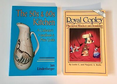 Price Guides, Royal Copley and The 50's & 60's Kitchen Collector's Handbook, Lot