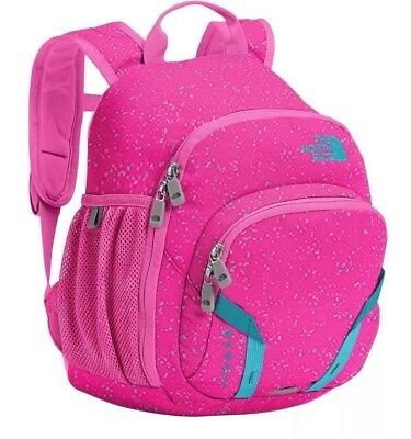 The North Face Youth Sprout Backpack Petticoat Pink Algiers Blue New