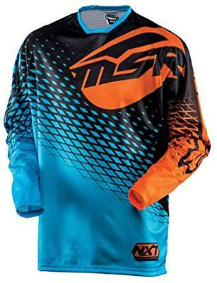 Msr Racing M15 Motocross Offroad Mx Nxt Jersey Blue/orange Size Adult Small