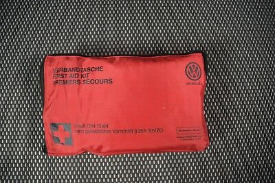 Original VW Verbandtasche 3D0860282A Verbandskasten first aid bag 12/2018