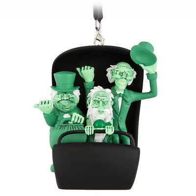 Disney Parks Haunted Mansion Hitchhiking Ghosts 2018 3D Ornament Doom Buggy