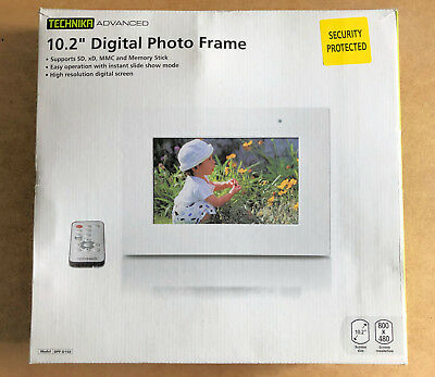 "Technika Advanced 10"" Digital Picture Frame - Photo Frame"