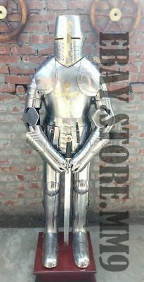 Medieval Knight Suit of Armor 15th Century Combat Full Body Armour SWORD