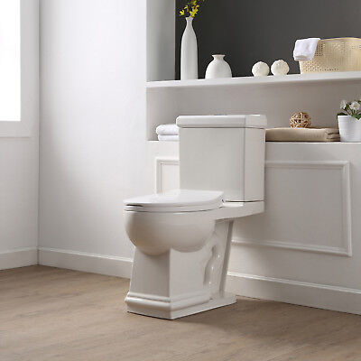 OVE Decors Hermosa Two-Pieces Elongated Toilet
