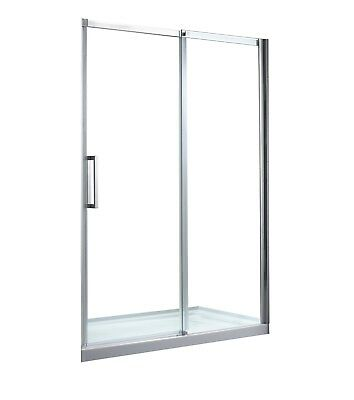 OVE Decors Elvina 60 in. Shower Kit Clear Glass with White Base