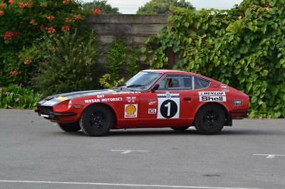 1972 Datsun 240Z Historic Rally Car – Owned and rallied by the late Tony Fall