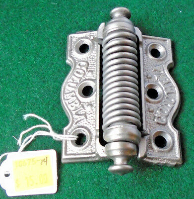 Vintage Screen Door Hinge - Circa 1890 - Columbia - Nice Condition  (10675-14)