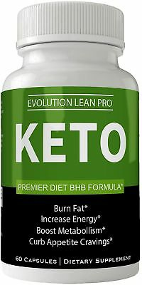 Evolution Lean Pro Keto Weight Loss Pills - Keto BHB Capsules - Diet 60 Capsu...