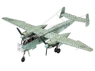 Revell 03928 Heinkel He219  A-0/A-2 Nightfighter Plastic Kit 1/32 Scale T48 Post