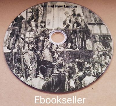Old and new London, a narrative of its history it's people in pdf ebooks on disc