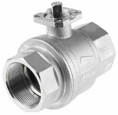 RS Pro Process Ball Valve Brass 2 Way, 2in Pipe Size