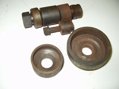 """Greenlee 3/4"""" Conduit Knockout Punch with Draw Bolt, 2 1/4"""" and  1/ 1/4"""" Anvils"""