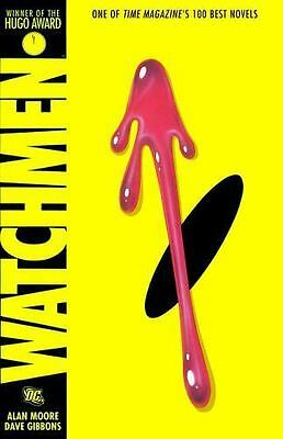 WATCHMEN GRAPHIC NOVEL By Alan Moore Dave Gibbons DC Comics