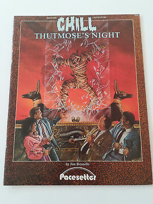 Thutmose's Night (Another Chill Adventure), Pacesetter