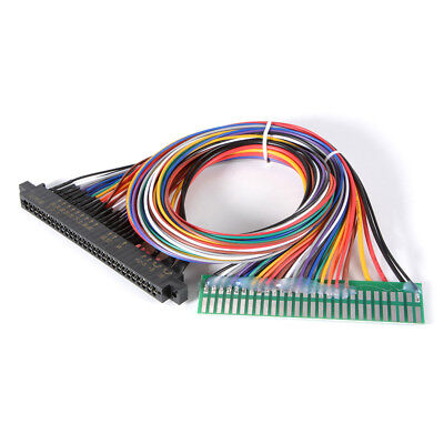 """60CM 24"""" Wiring Harness Extend Cable DIY Parts For Arcade Jamma Machine AC710"""