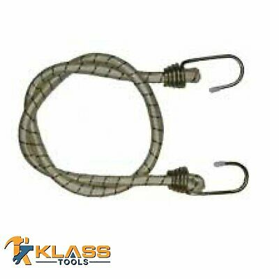 """24"""" Inch Jumbo Bungee Cord with Zink Coded Hook (Tie Down)"""