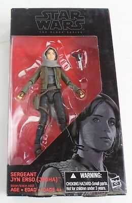 Hasbro Star Wars the Black Series Jyn Erso Action Figure New Sealed