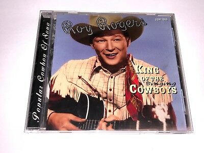 Roy Rogers CD King of the Singing Cowboys Collector's Choice Music 2004 USED