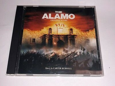 The Alamo movie score CD Carter Burwell Hollywood Records 2004 USED