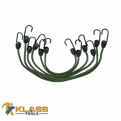 """18"""" Inch Heavy Duty Camouflage Elastic Stretch Cord / Bungee Cord / Tie Down"""