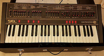 Siel Orchestra 2 Synthesizer Keyboard Never Used