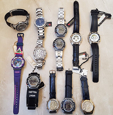 Rare Vintage Nos Citizen Wr 100 Promaster Watches Lot Of 12 Watches