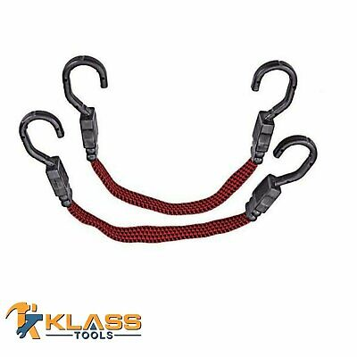 "15"" Heavy Duty Elastic Tie Downs / Stretch Cord / Bungee Cord"