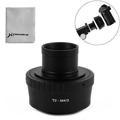 "1.25"" Telescope Mount + T T2 Lens Adapter für Panasonic GM5 Micro 4/3 M4/3 DC691"