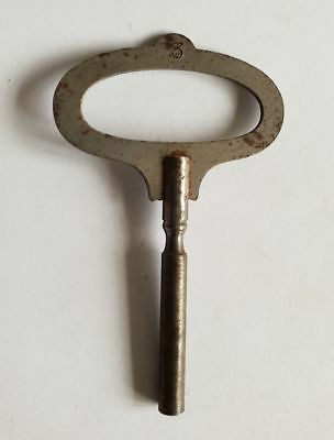 Antique Clock key Popular Progress Steel  3.25mm No.3
