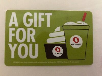 Red Mango Gift Card $100