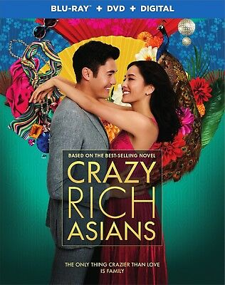 Crazy Rich Asians - Warner Brothers Blu-ray/DVD/Digital