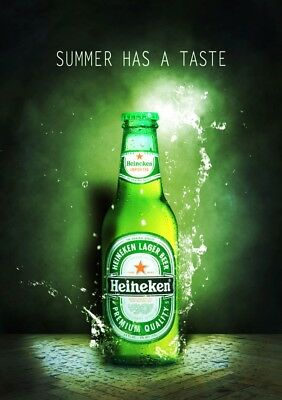 Heineken Beer Fridge Magnet