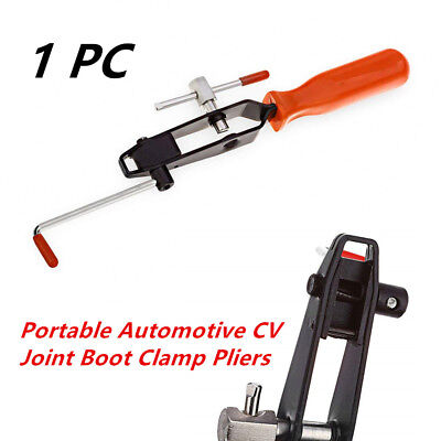 Automotive CV Joint Boot Clamp Pliers Banding Crimper Tool Ear Type Universal