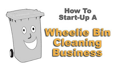 Easy low cost start up business. Wheelie Bin Cleaning Service. Be your own boss.