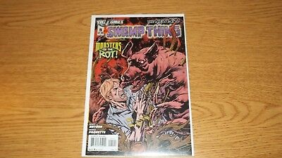 Swamp Thing Dc Comics 2011 Series # 5 The New 52