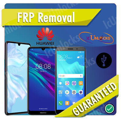 Remote Account Bypass Removal, Reset Unlock FRP for HUAWEI Most models Supported