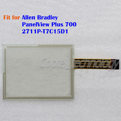 New for Allen Bradley PanelView Plus 700 2711P-T7C15D1 Touch Screen Glass