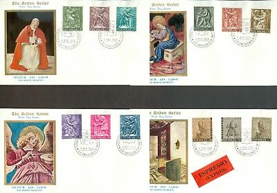 Vatican City Sc# 423-32, E's: Man at Work on FDC