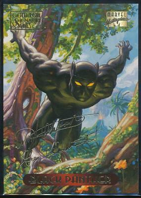 1994 Marvel Masterpieces Gold Signature Trading Card #8 Black Panther