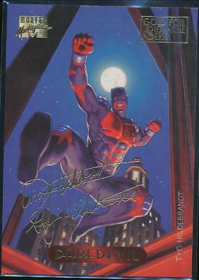 1994 Marvel Masterpieces Gold Signature Trading Card #26 Daredevil