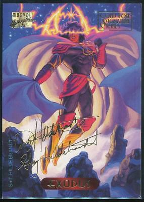 1994 Marvel Masterpieces Gold Signature Trading Card #36 Exodus